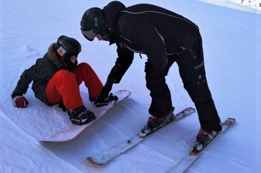 Skiing and snowboarding popularity
